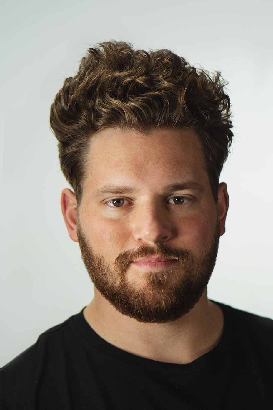 Portrait of Mark Lupul, the Digital Director of Blodwen Audrey.