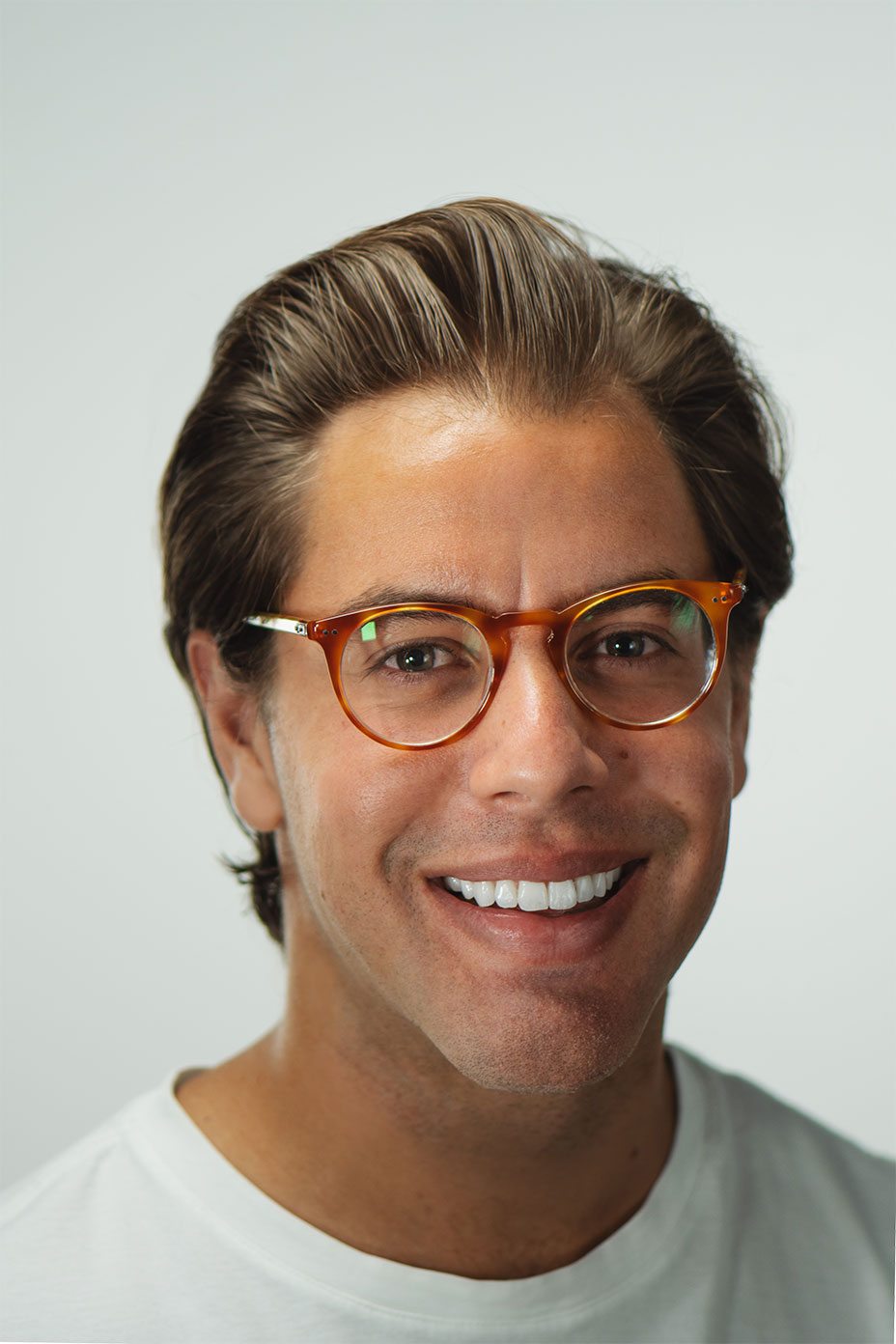 Portrait of Tim Dunkin, the Creative Director of Blodwen Audrey.
